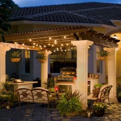 Frisco, Texas Custom Pergola Patio