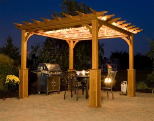 Plano, Texas Outdoor Living Space Pergola