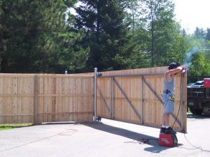 Custom Gates And Fences Dallas Fort Worth Best New Fence