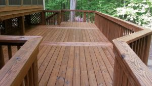 Canton, Texas Wooden Deck